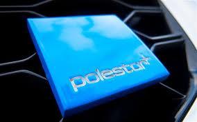 Volvo C30 Polestar badge blue