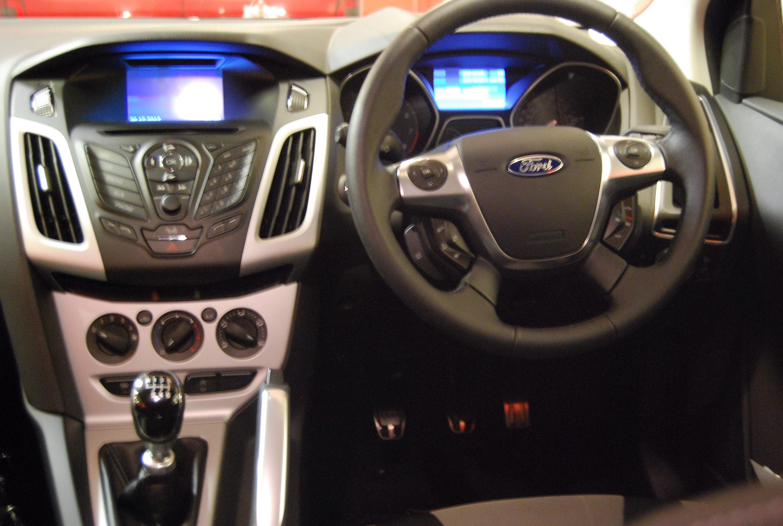 2013 Ford Focus Interior Driving Torque
