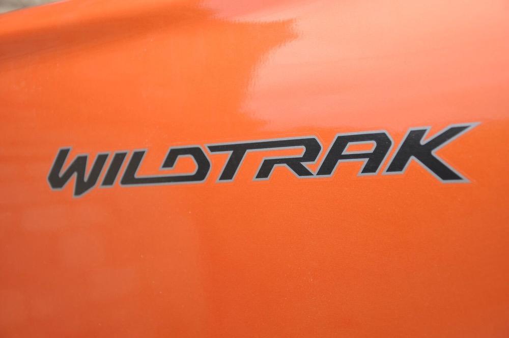 Ford Ranger Wildtrak badge
