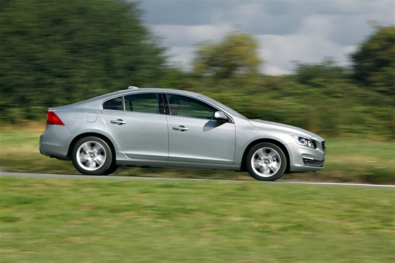 Easy to forget that this is a four-door saloon volvo s60