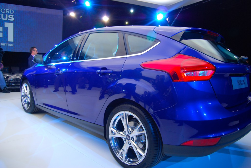 2014 Ford Focus rear and side