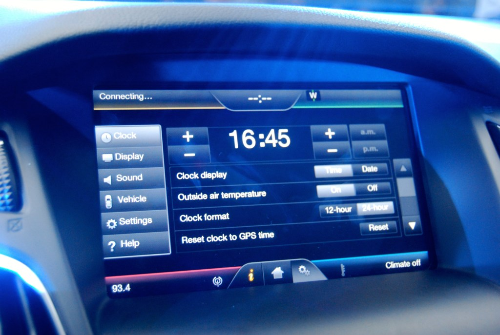 2014 Ford Focus Touch Screen