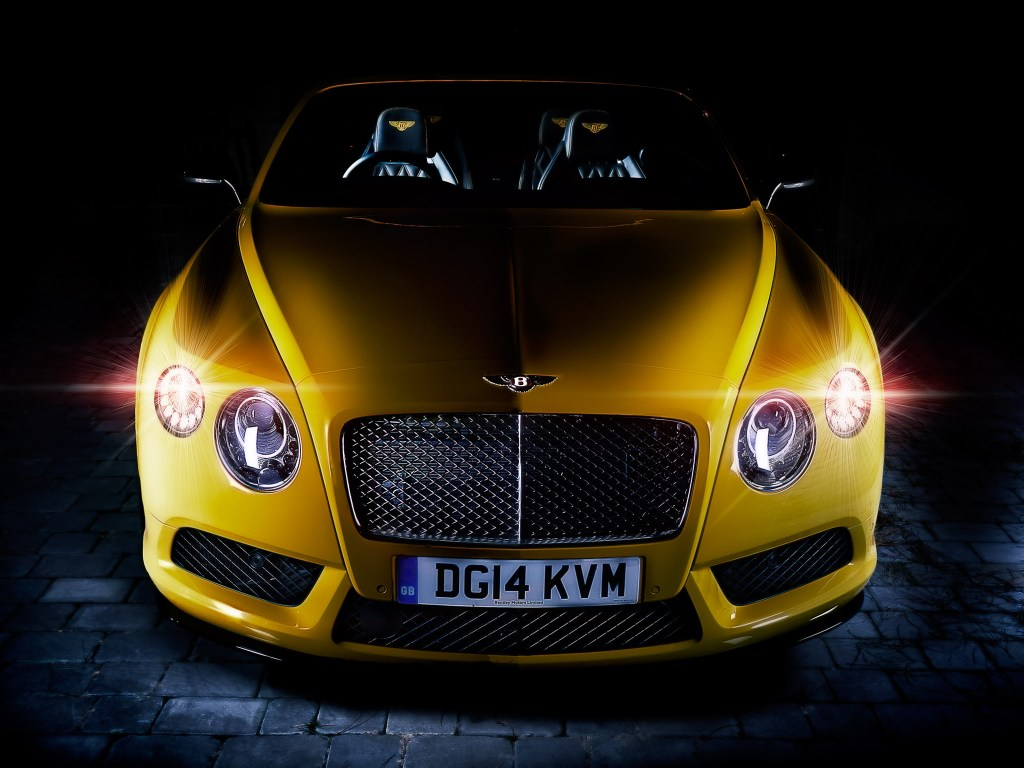 Bentley_Continental_GT_V8_S_Front_Monaco_Yellow