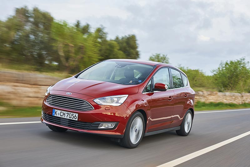 Ford C-MAX red front
