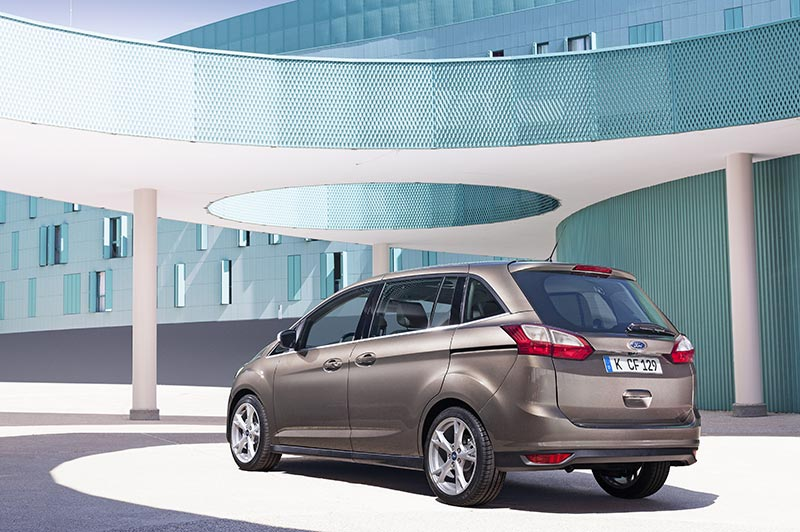 New Ford Grand C-MAX rear brown