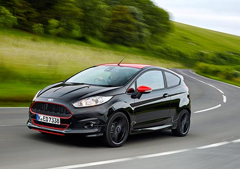ford fiesta red black edition review. Black Bedroom Furniture Sets. Home Design Ideas