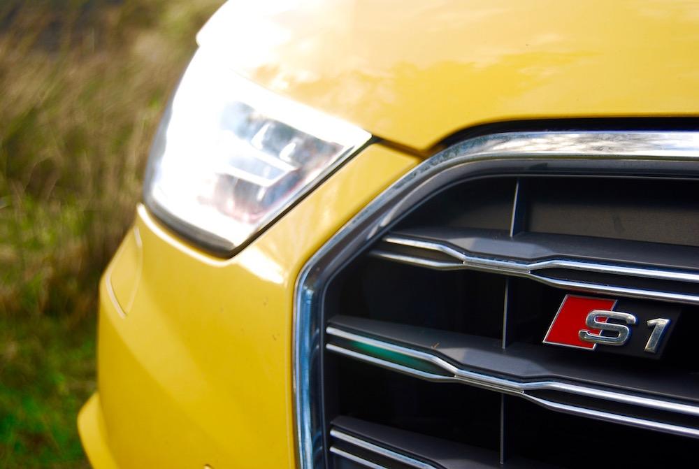 Audi S1 Vegas Yellow grille