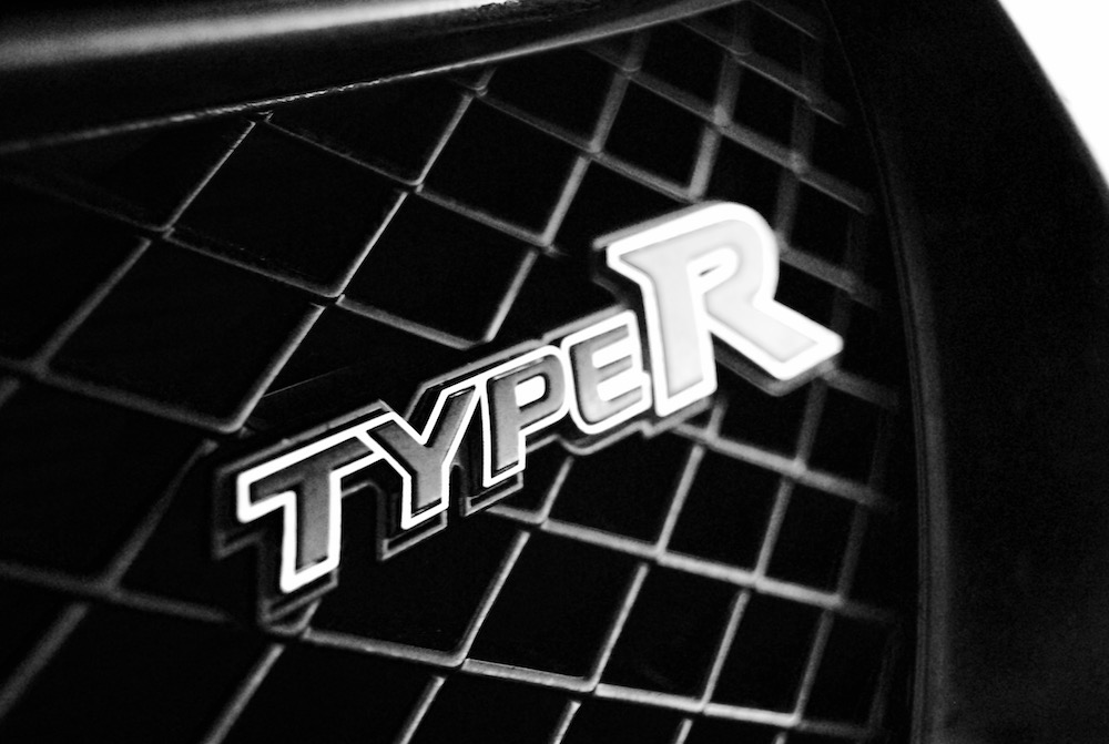Civic Type R badge