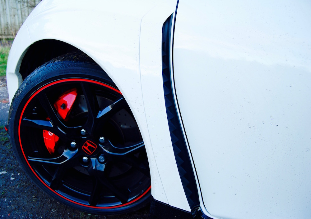 Civic Type R wheel brake vent