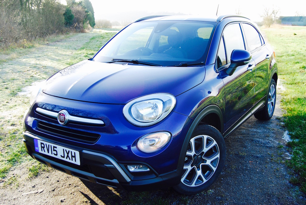 Fiat 500x off road purple