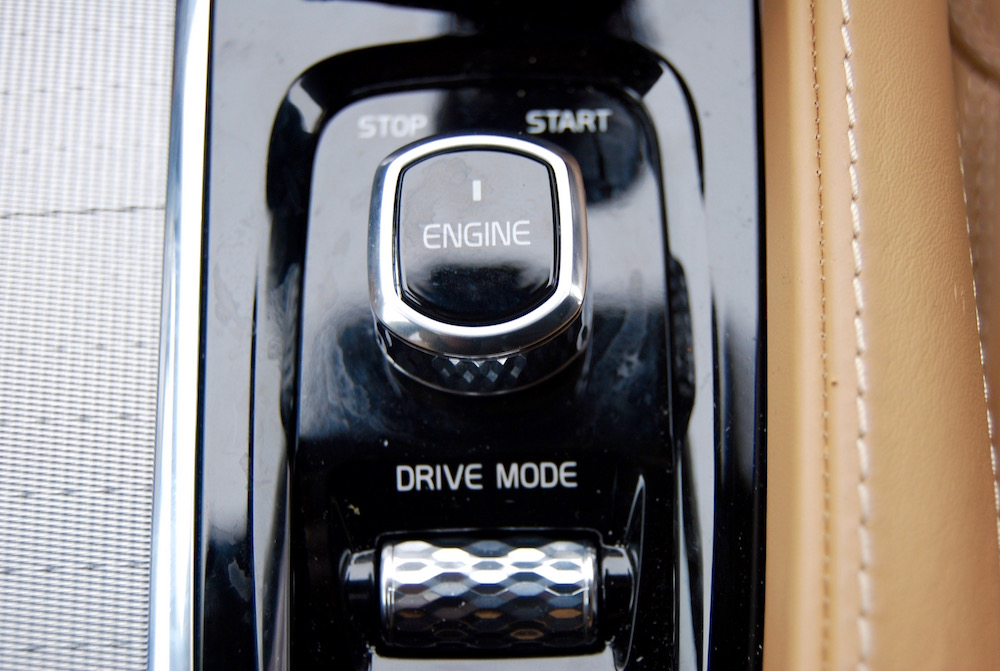volvo xc90 drive mode engine stop start