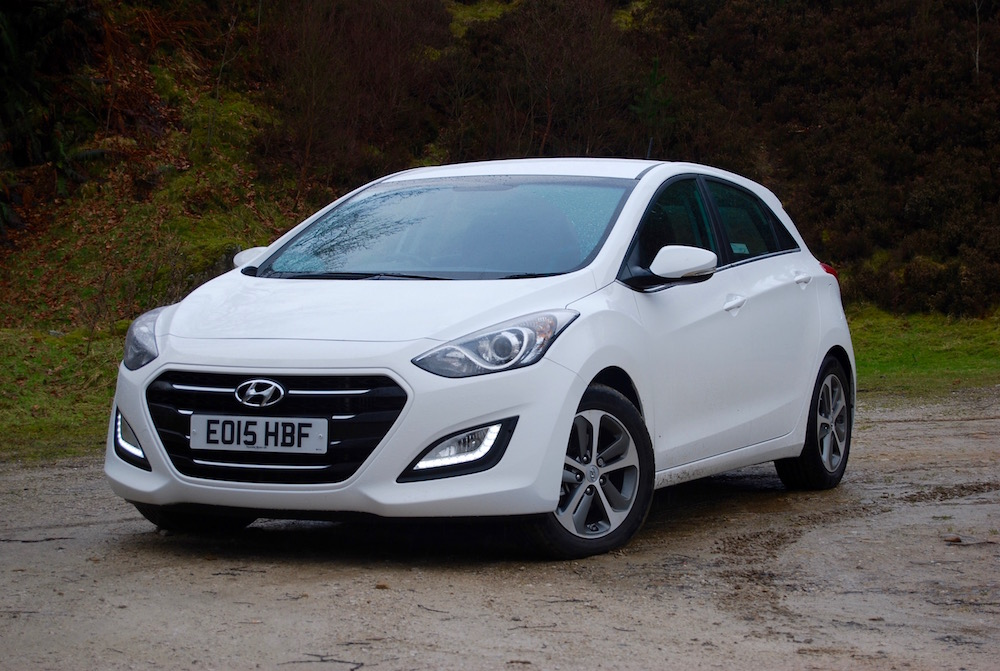 hyundai i30 white front review road test