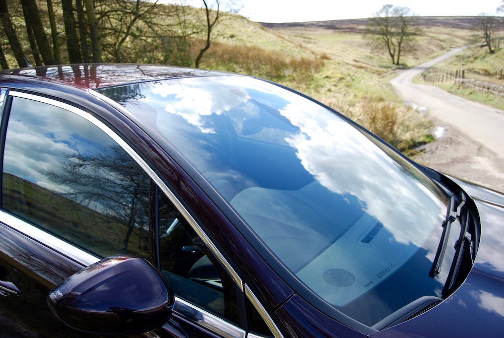 citroen ds 4 panoramic windscreen review