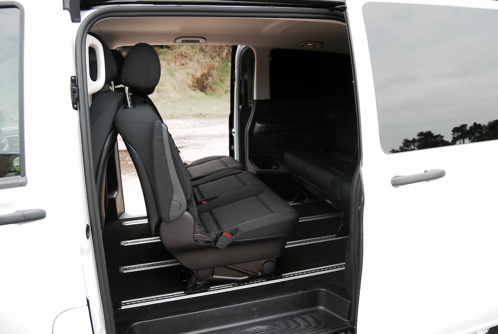 mercedes benz vito tourer rear seats