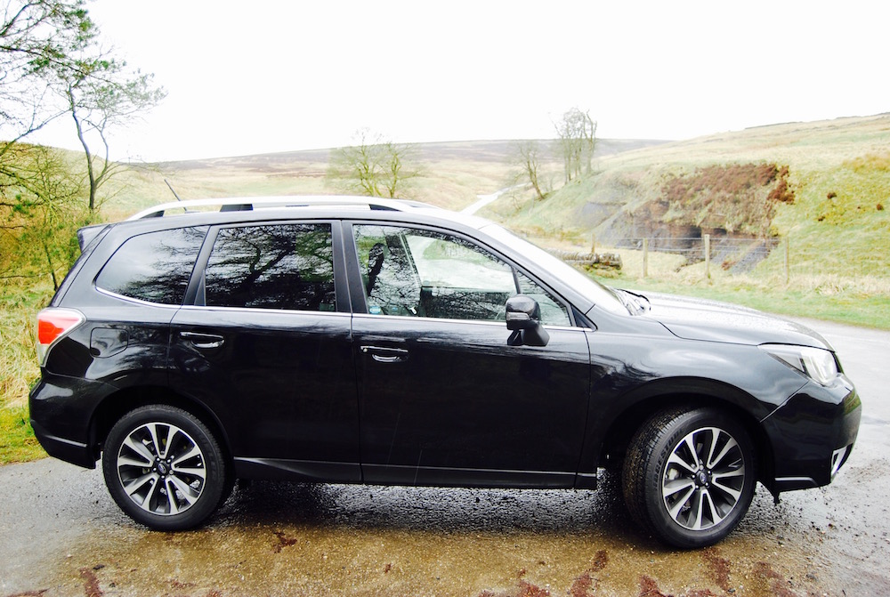 subaru forester xt review black side