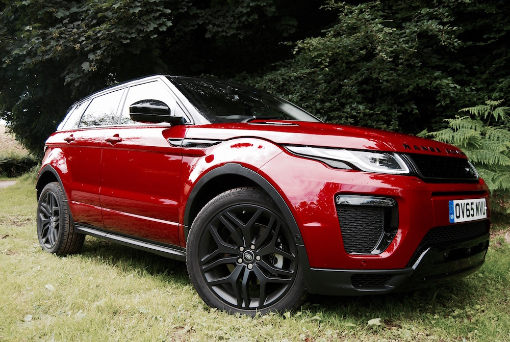 2016 Evoque side red