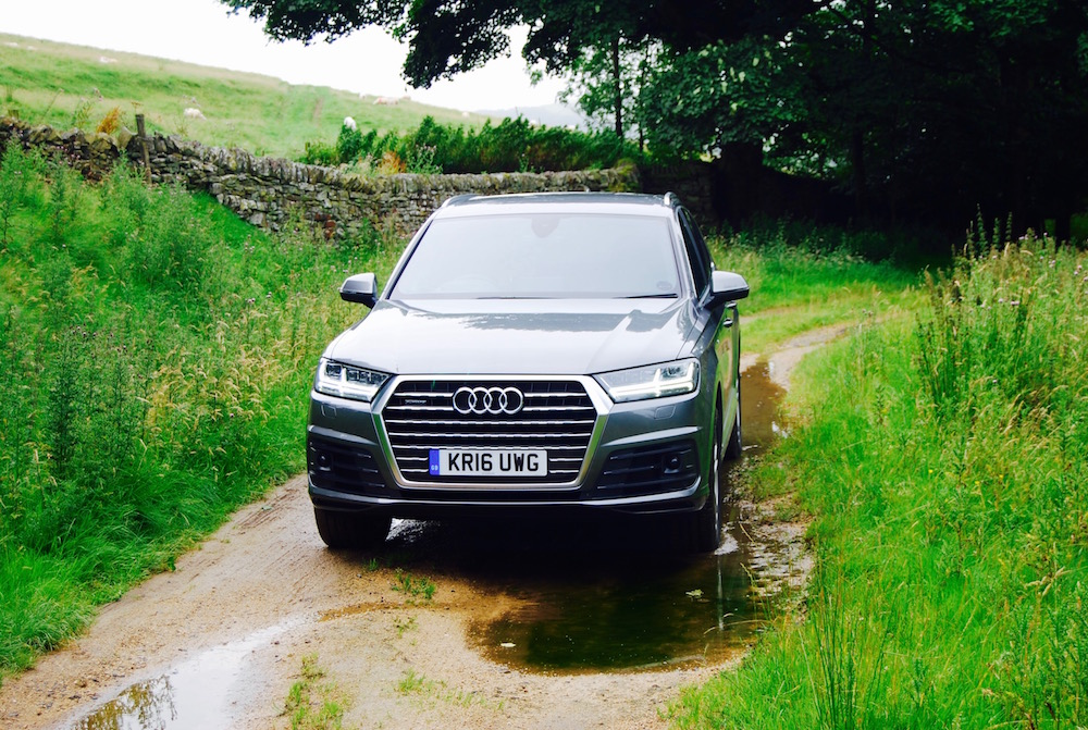audi q7 front grey review