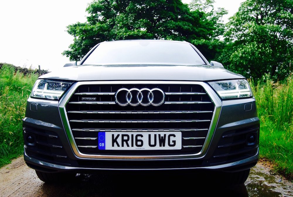 audi q7 nose grille review