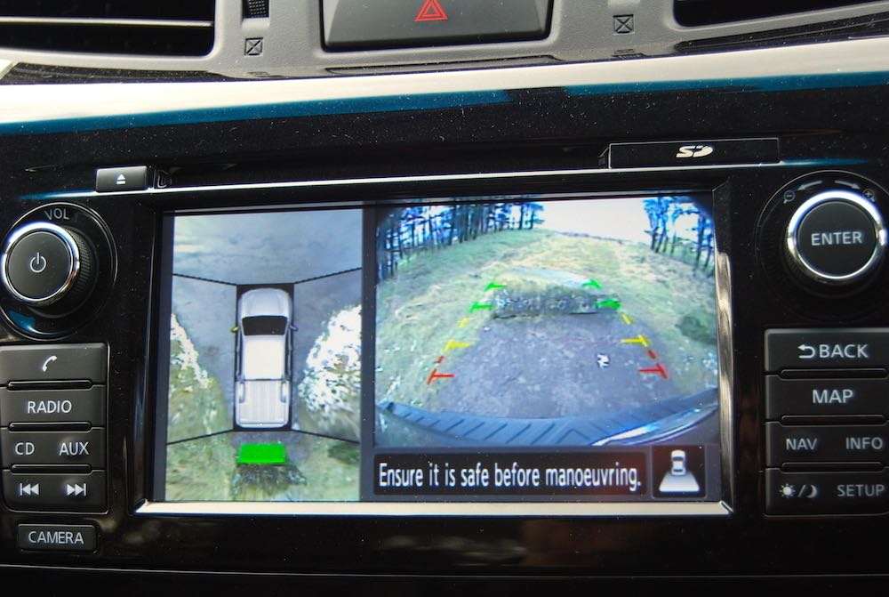 Nissan Navara Around View Monitor