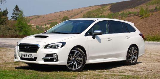 Subaru Levorg GT White front side