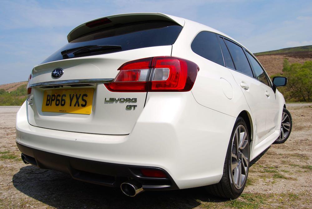 Subaru Levorg GT White rear