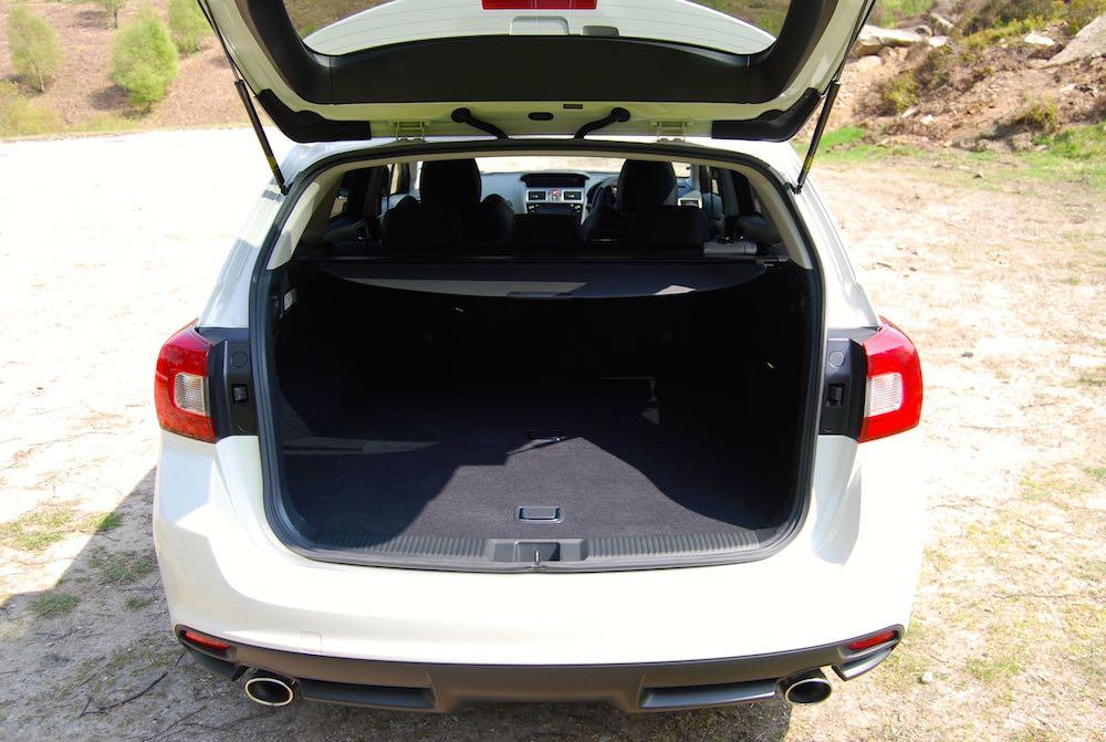 Subaru Levorg GT boot