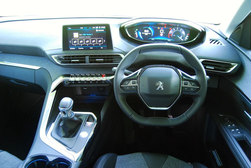 peugeot 3008 1.2 allure road test & review - driving torque