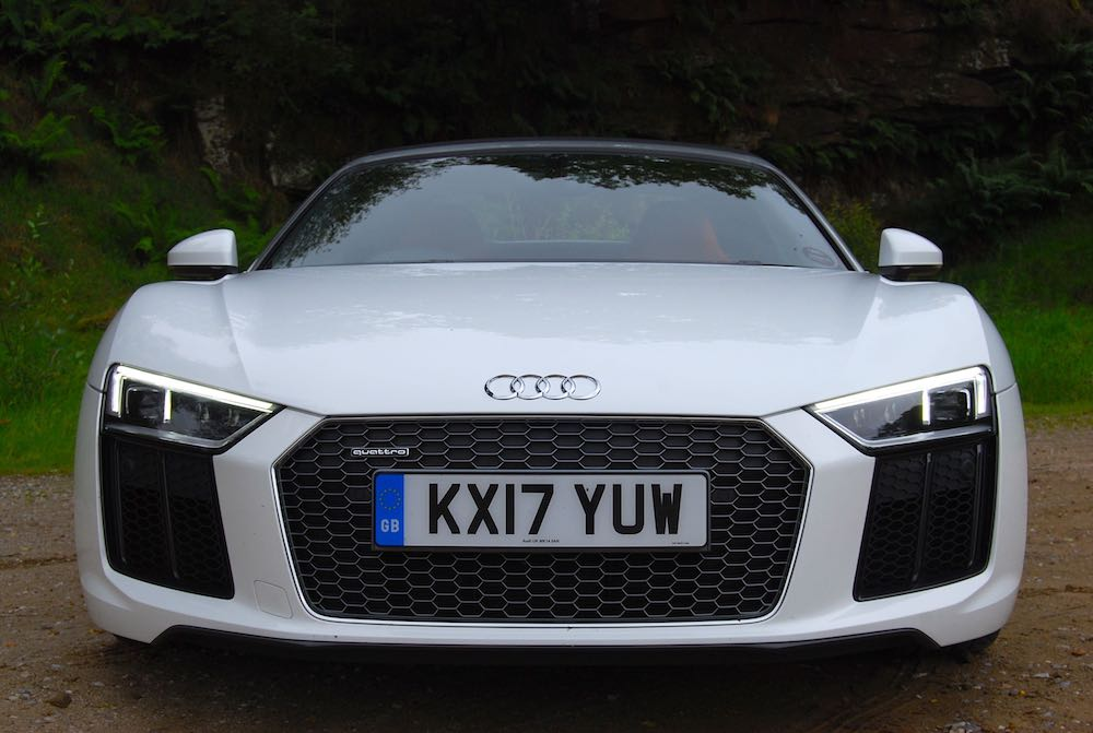 Audi R8 Spyder V10 Review Driving Torque