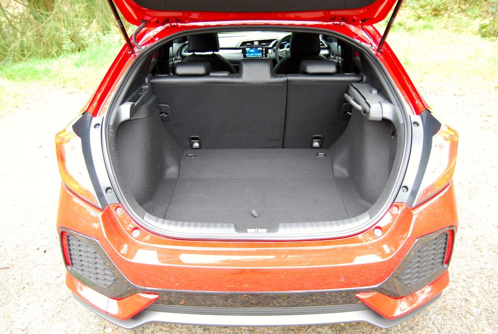 Honda Civic boot