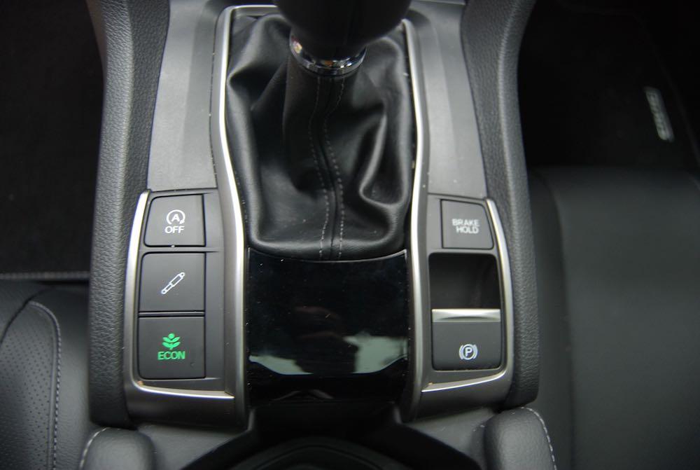 Honda Civic brake hold