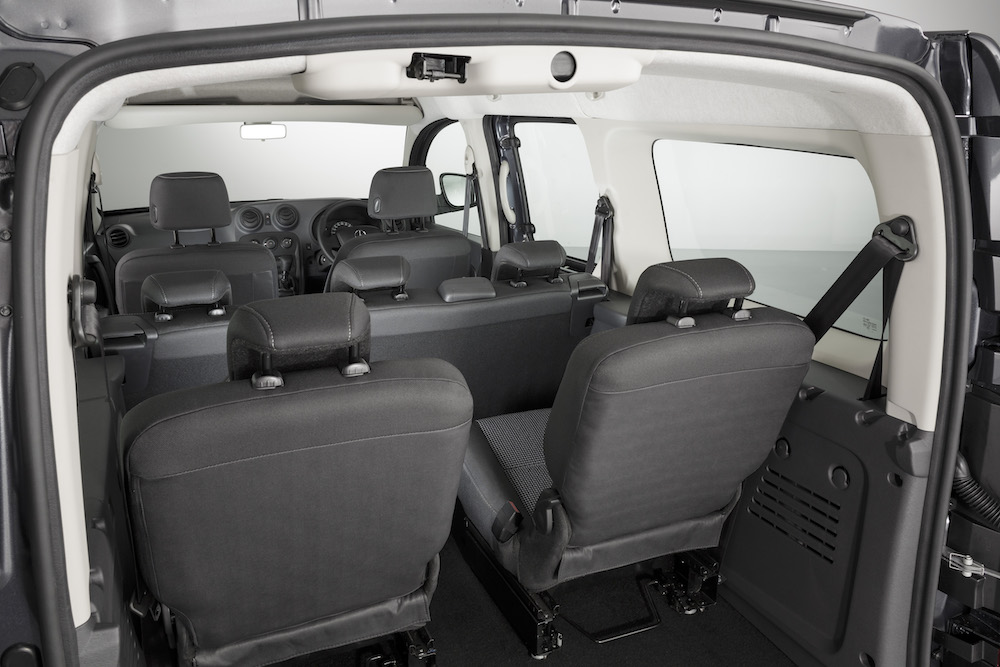 Citan 111 CDI, Crewbus extra-long, 7 seats, tenorit grey metallic