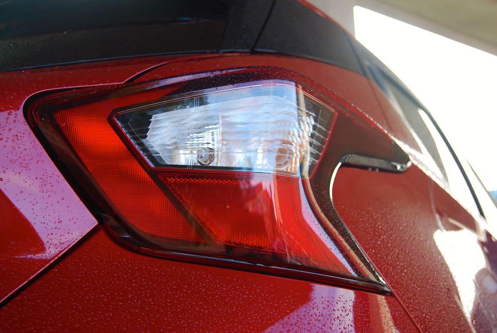 Nissan Micra rear light