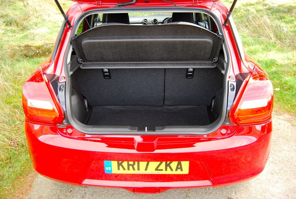 suzuki swift boot