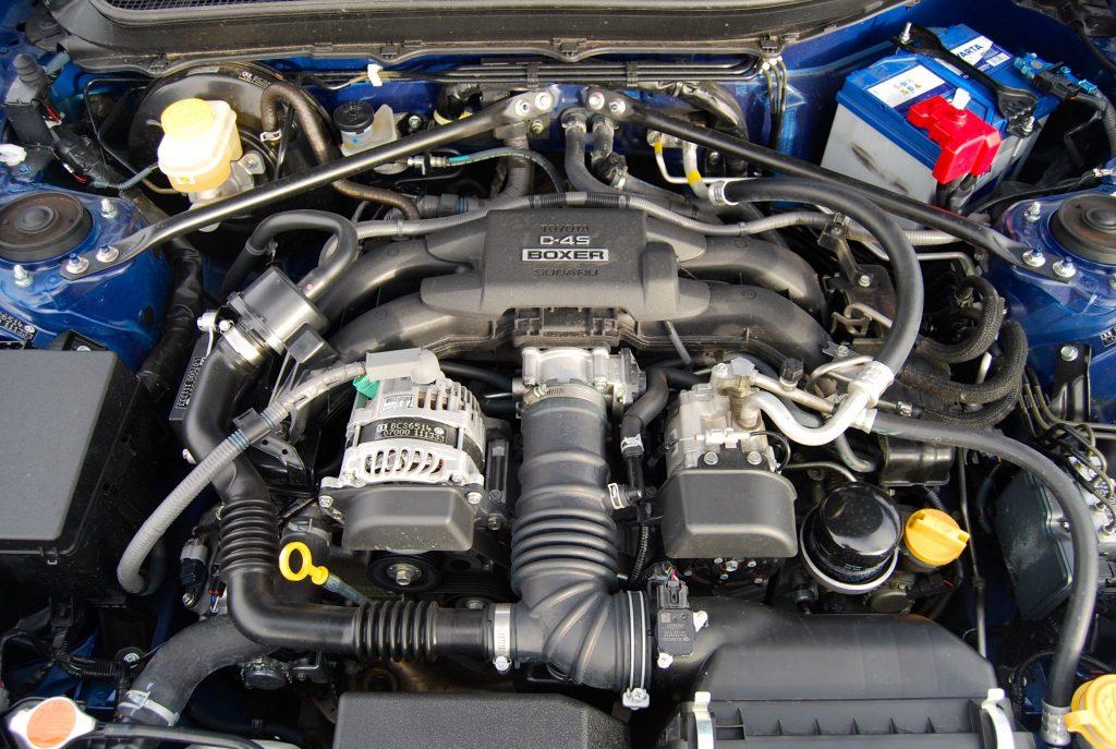 subaru brz 2017 boxer engine