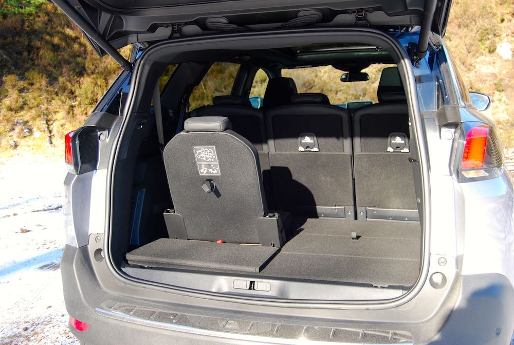 peugeot 5008 single third row seat