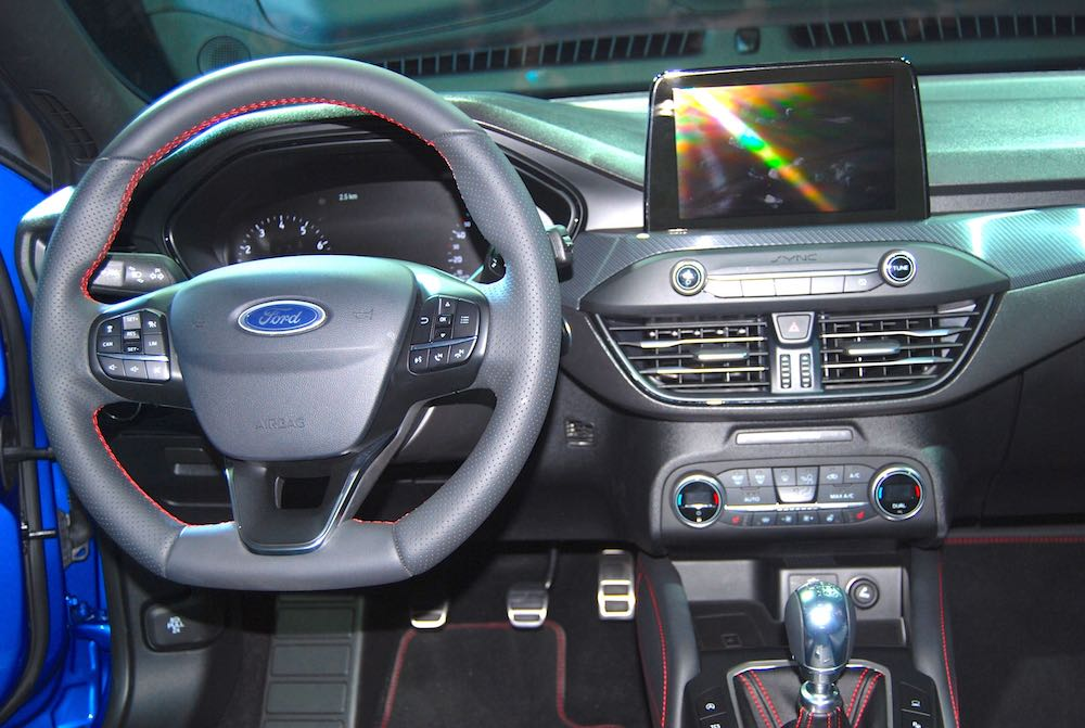 All New Ford Focus Dashboard Driving Torque