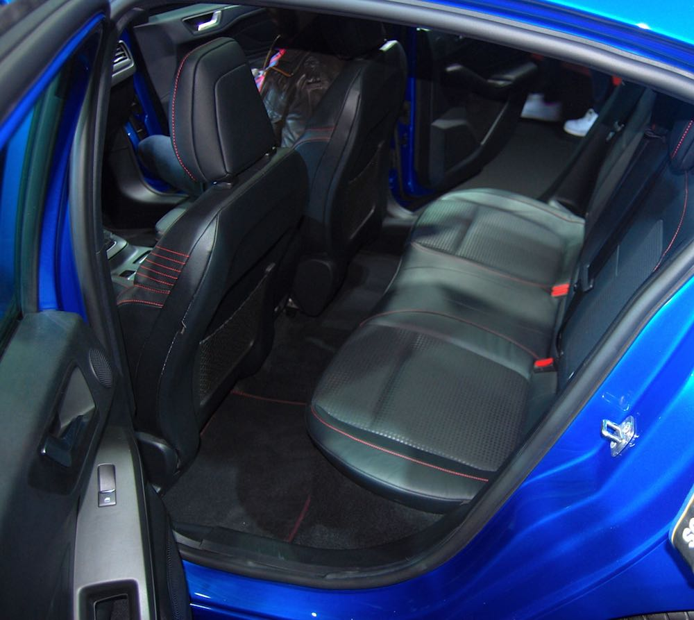 all new ford focus rear seats