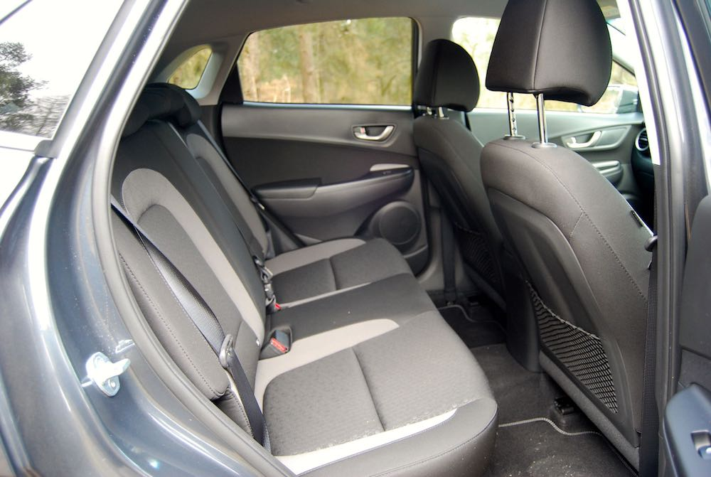 hyundai kona rear seats