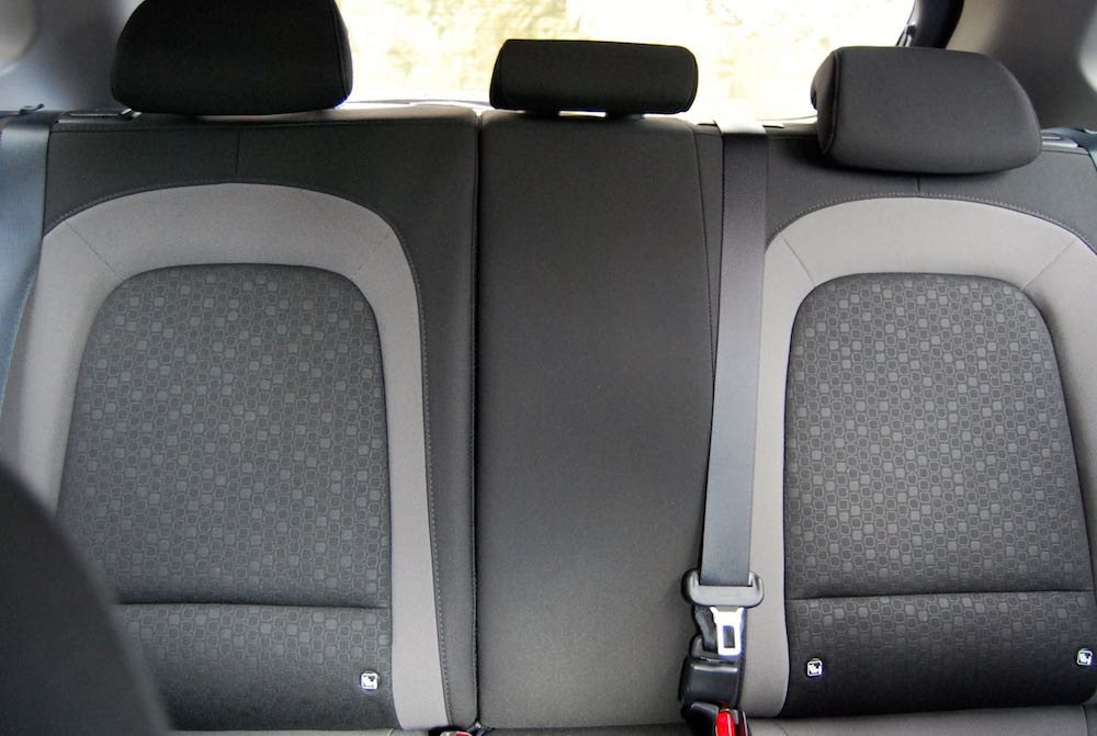 hyundai kona rear middle seat