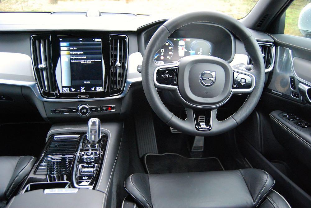 volvo s90 t8 interior