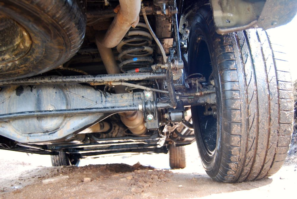 mercedes x-class rear suspension