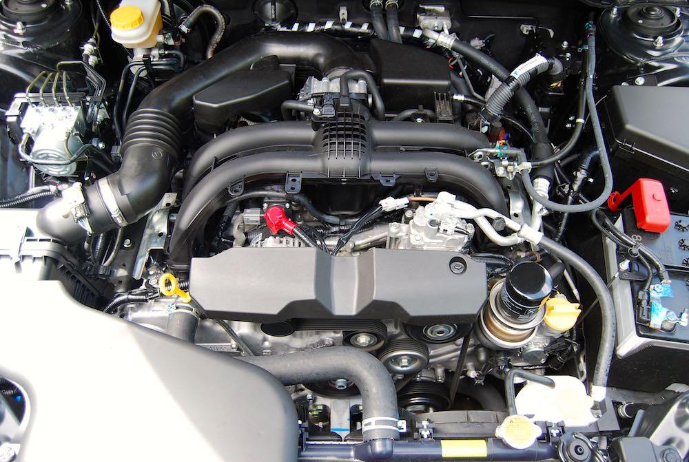 Subaru Outback 2.5 petrol boxer engine