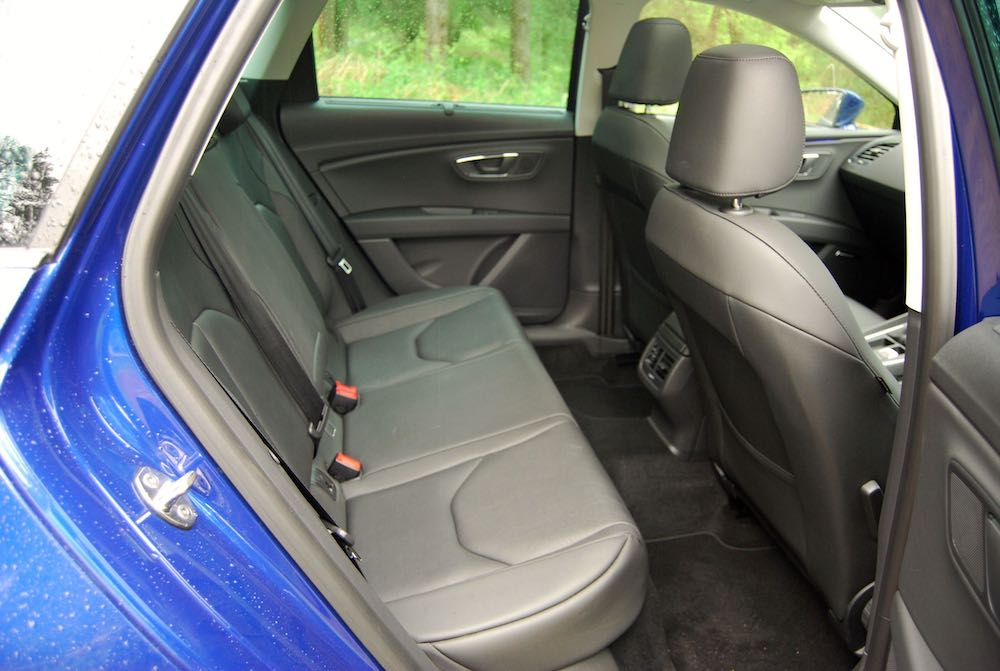 seat leon st rear seats