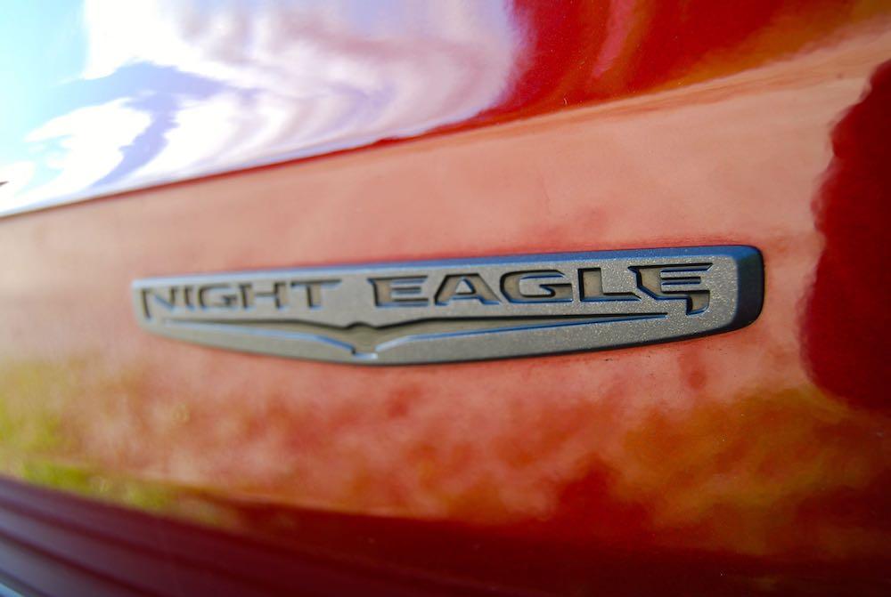 jeep grand cherokee night eagle badge