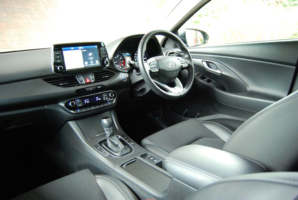 hyundai i30 fastback review cabin interior
