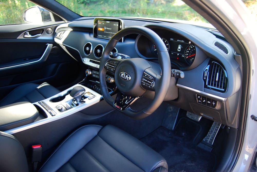 kia stinger gt interior cabin review roadtest