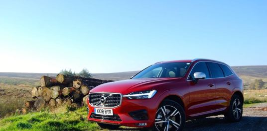 volvo xc60 red side front review roadtest