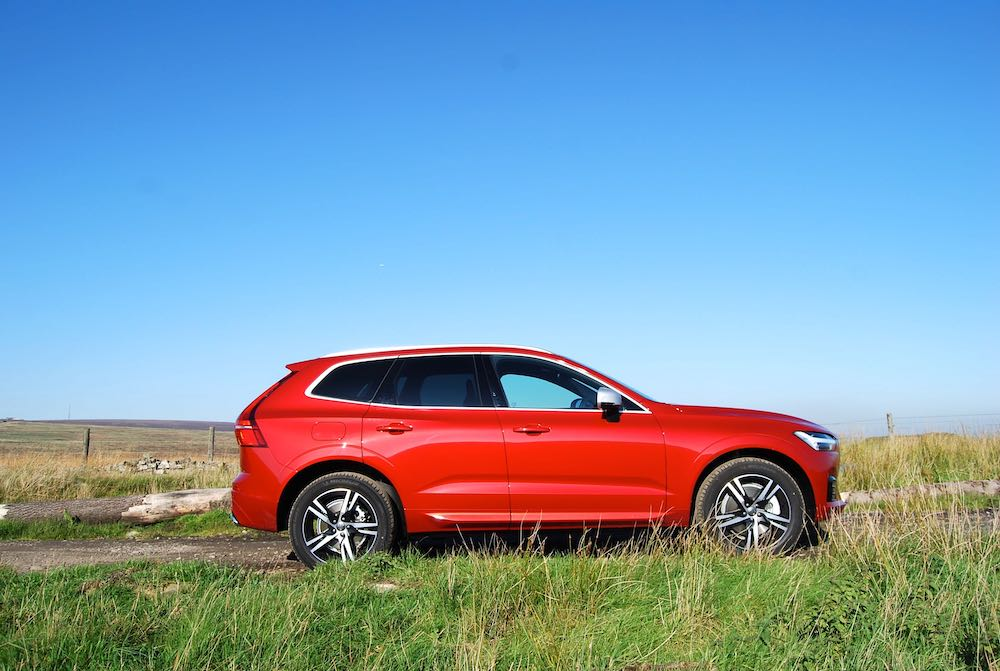 volvo xc60 red side review roadtest