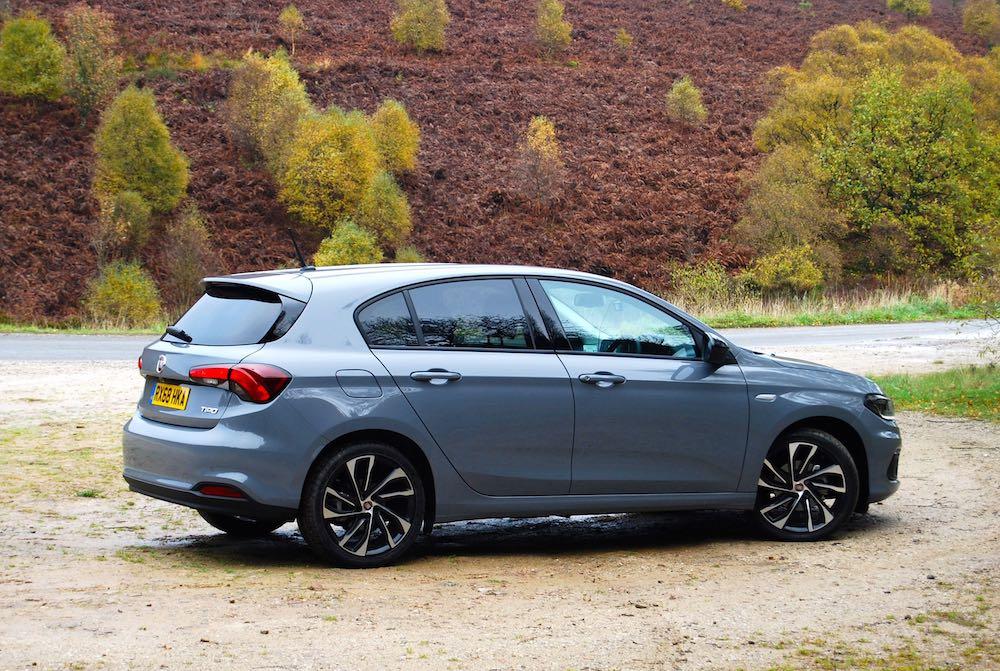 fiat tipo egea neon grey side rear review roadtest