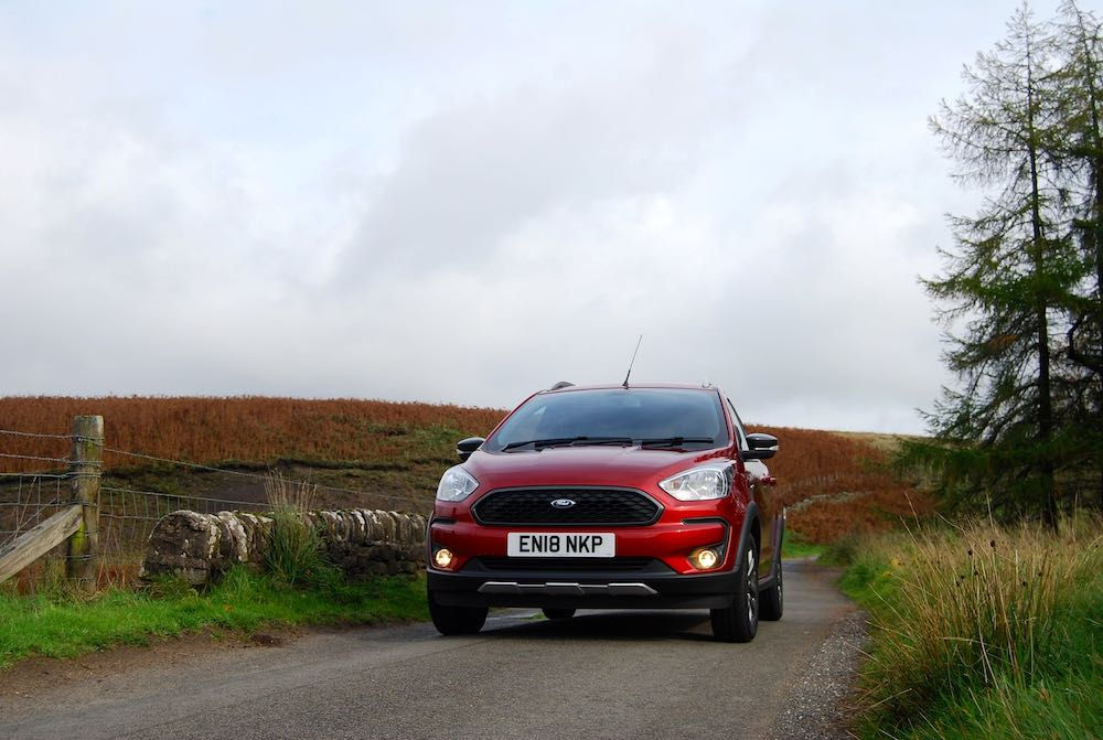 ford ka+ active red front low review roadtest